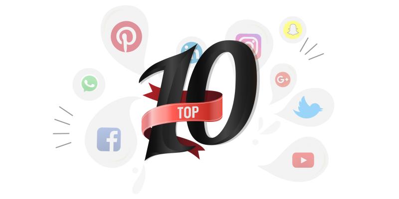 Top 10 tendências nas redes sociais em 2020